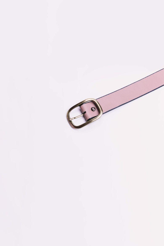 Cinturón Saint Germain Nude Napa detalle   Miboheme