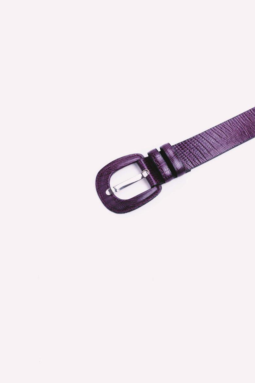 Cinturón Vendome Burdeos detalle | Miboheme