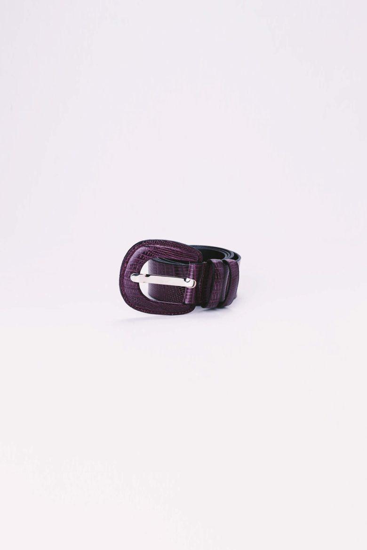 Cinturón Vendome Burdeos | Miboheme