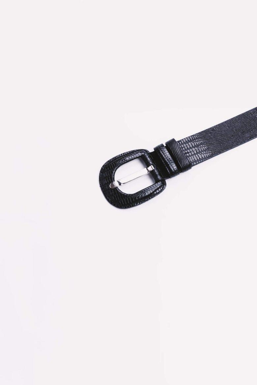 Cinturón Vendome Negro detalle   Miboheme