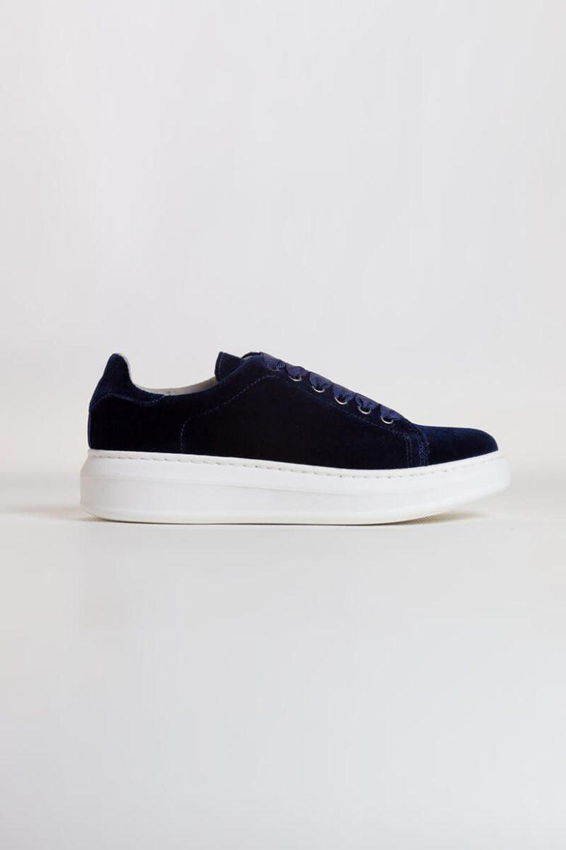 Sneakers Terciopelo marino   Miboheme