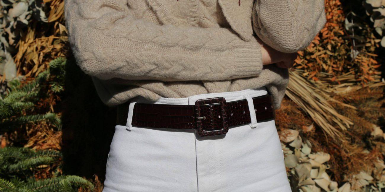 El cinturón, homenaje a un básico que nos fascina